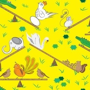 See-saw Friendship Animals_Miss Chiff Designs