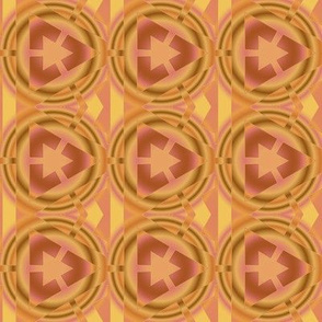Mango Circle Geometric Large