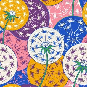 Dandelions color