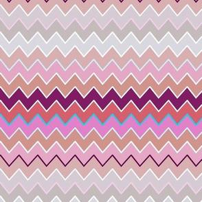 Chevron - Happy Multicolor