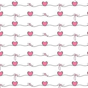 Me Heart You - Bright Pink ©Julee Wood