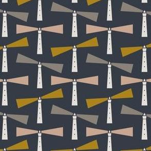 Lighthouse - navy