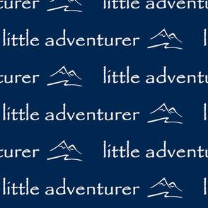 little adventurer // indigo