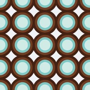 Brown & Blue Targets