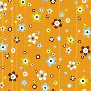 Flower Shower - Floral Orange