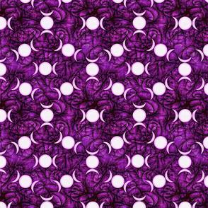 Purple goddess dark triple moon