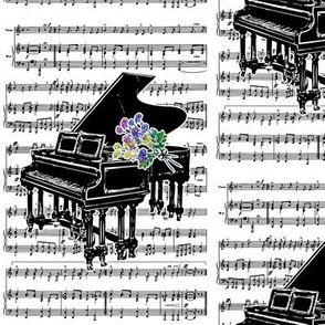 Danita's Bouquet For The Pianist