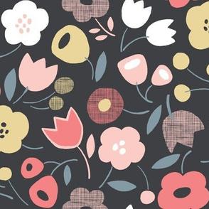 Flower Shower (Slate/Rose Quartz)