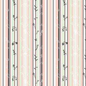 033 Peach stripes