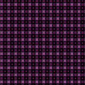 Feminine Purple Rad Plaid