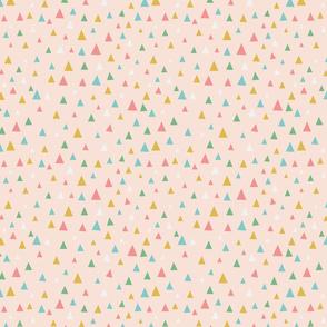 Raindrops, peach