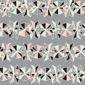 geometric lace limited palette
