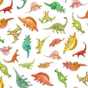 Dinosaur Party | White Background
