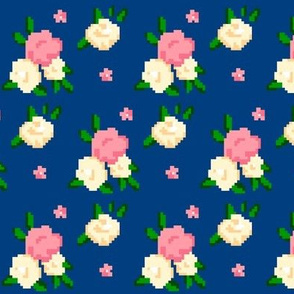 Navy Rose