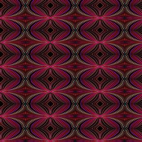 Dotted Kaleidoscope Pattern