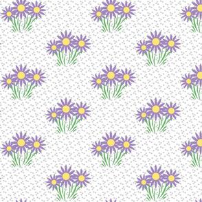 Danita's Flowers on Dots