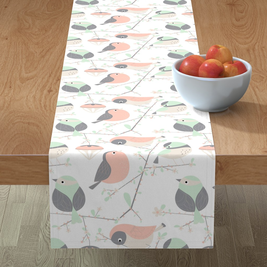 Minorca Table Runner featuring birdy by gnoppoletta