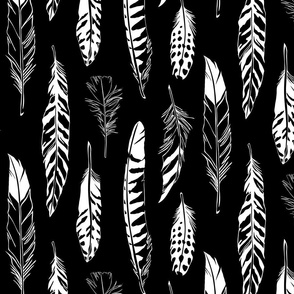 Feathers_Black