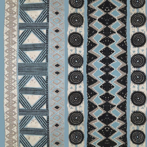 Polynesian tribal tapa
