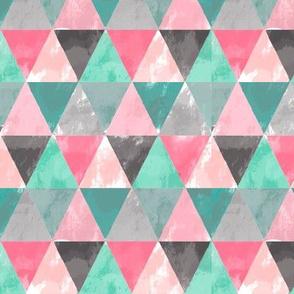 grungy geometric