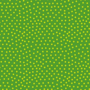 Green dotty: dream raccoons