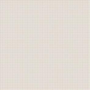 Cream & Gray Pinstripe grid