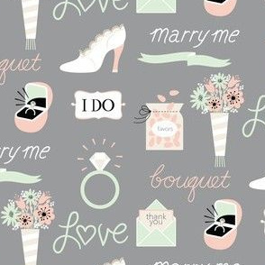 marry me! in gray
