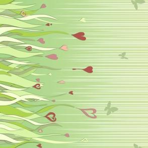 031 Fields of love border print