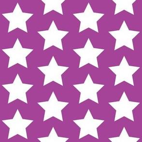 white star on purple