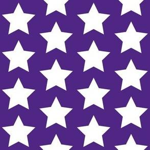 white on royal purple