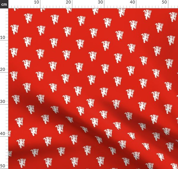 Manchester United Red Devil Classic Spoonflower