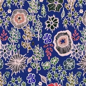 Lupin Garden blue
