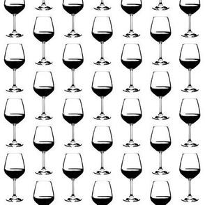 "2"" Wine Glasses"