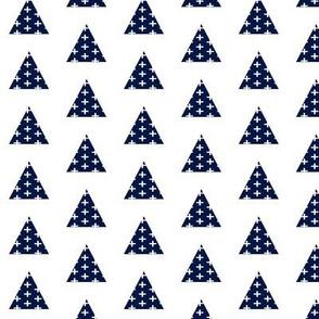 Triangle Plus Navy