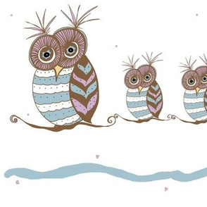 Whoootastic Owls white