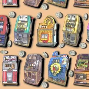 Dean's Slot Machines on Peach