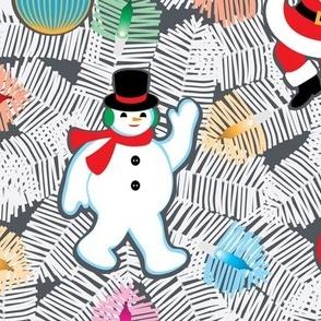 White Christmas Tree (New larger design)