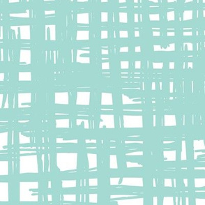 Raw pastel mint strokes and lines trendy scandinavian style raster