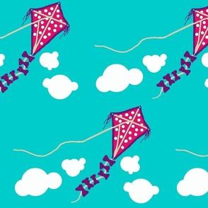 life's a Beach / kite pink