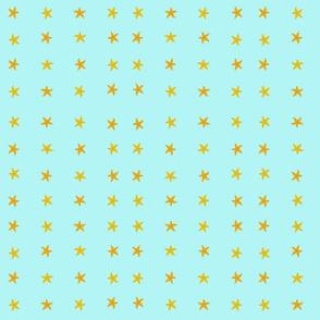 Simple_Starfish_Blue_Background
