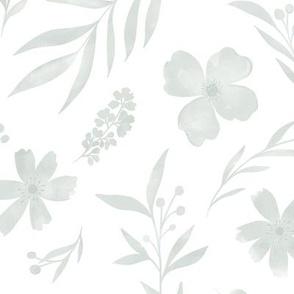 Soft grey watercolors no 2