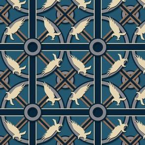 Eagle or Raven House  Pattern