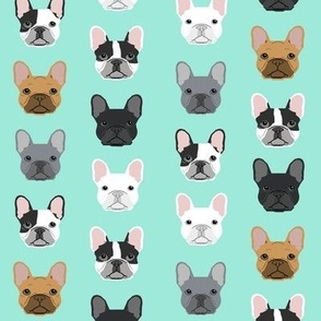 French Bulldogs french bulldog mint sweet dog puppy puppies dog lovers frenchie owners crafts