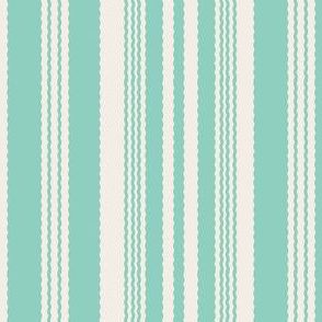 16-02r Mint and Cream Stripe_Miss Chiff Designs