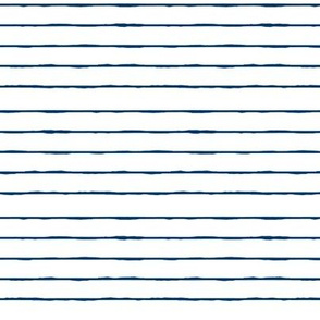 swim lane stripe in white and nautical navy