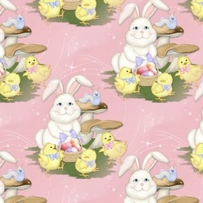 Easter Friends -pink