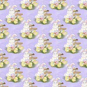 Easter Friends -purple