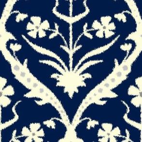 Iravan Trellis Ikat Spoonflower