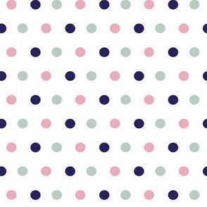 Boho Polka Dots ©2015 Jill Bull