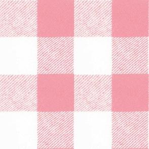 Buffalo Check // Pink
